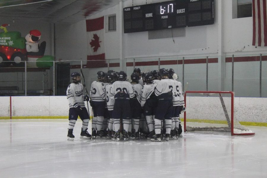 Staples boys' ice hockey looks to continue the trend this season by competing in both State and FCIAC tournaments.