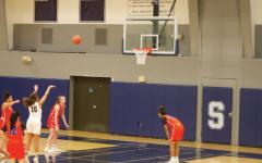 Girls' basketball team snatches a big FCIAC win