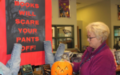 Library paraprofessional Cathy Carlson