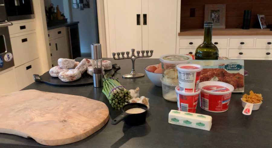 Using+family+recipes+and+time+honored+Hanukkah+traditions%2C+we+put+together+and+explained+the+importance+of+a+few+traditional+dishes+that+one+would+typically+eat+during+the+holiday.