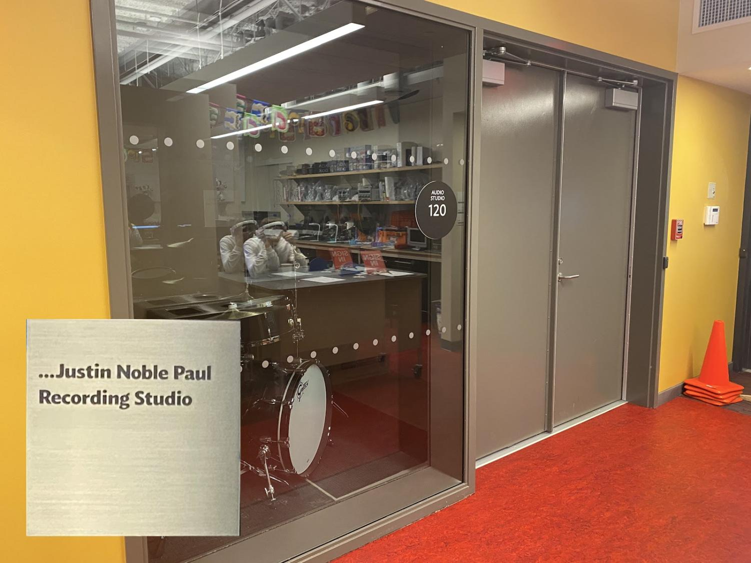 Currently being built, the Justin Noble Paul recording studio hopes to spark imagination in what is now the newest addition to the Westport Public Library.