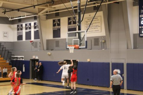 Girls' basketball team snatches a big FCIAC win