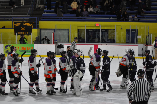 The Wreckers lost 4-2 to Stamford on Feb. 6, 2020.