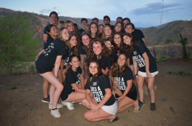 Staples students involved in nonprofit organization Builders Beyond boarders (b3) travel to Costa Rica to build community center.