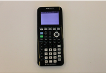 A standard TI-84 calculator which many Staples students currently use.