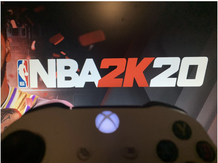 The+NBA+makes+use+of+their+own+Xbox+game+by+showing+pro+basketball+players+competing+in+NBA2k20.+While+they+cannot+play%2C+sports+leagues+have+looked+to+alternative+forms+of+entertainment+for+their+viewers.