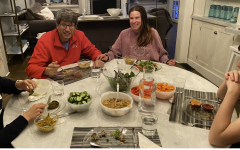 One positive thing that has come out of this quarantine is that I am now able to have dinner with my family every night. It is a nice way to end the day and catch up.