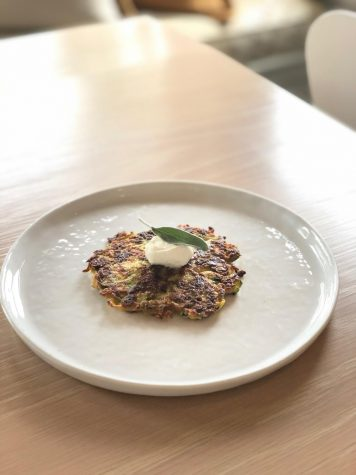 During the quarantine, there is a lot of time to try and enjoy new recipes. A health filled zucchini pancake is the perfect lunch meal to make, and it tastes delicious!