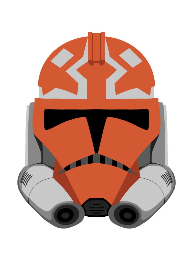 A 332nd Battalion Clone Trooper Helmet