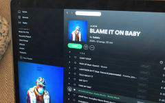 Last Thursday, BLAME IT ON BABY appeared on spotify, apple music, and other music websites.