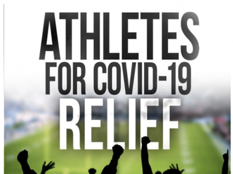 Provide a graphic credit for your multimedia: Athletes are finding new ways to inspire with coronavirus relief.