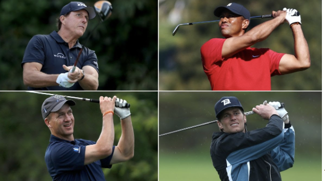 Four+of+sports+best+athletes+compete+in+golf+match+for+charity.