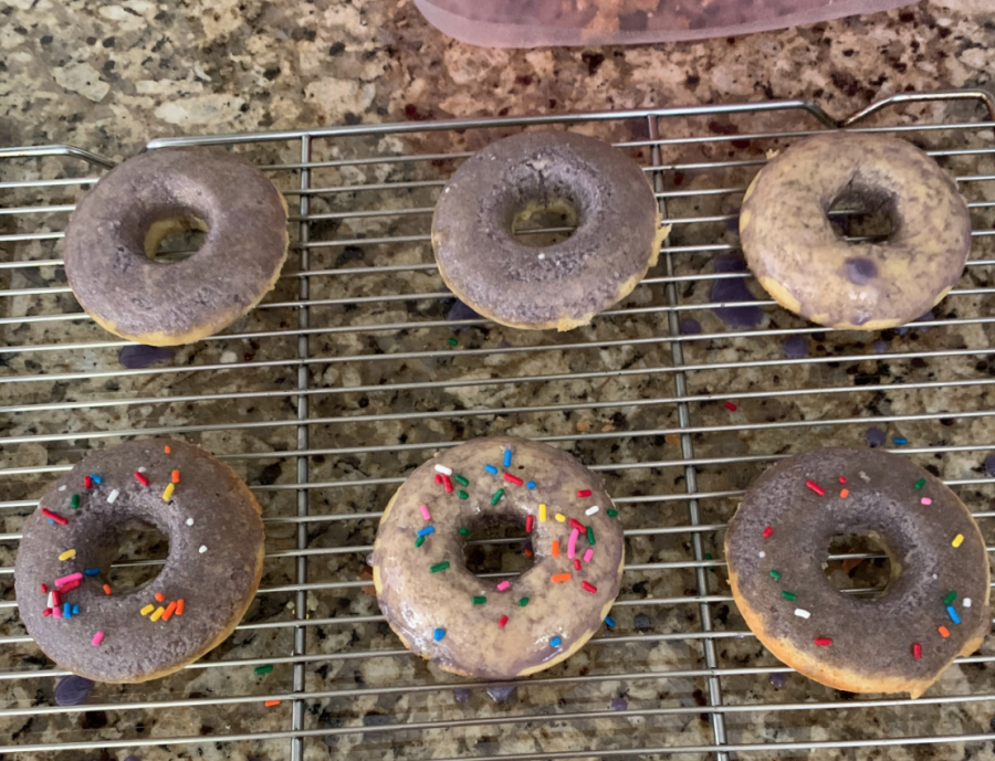 Homemade donuts serve as a great homemade dessert recipe to enjoy with family during quarantine.