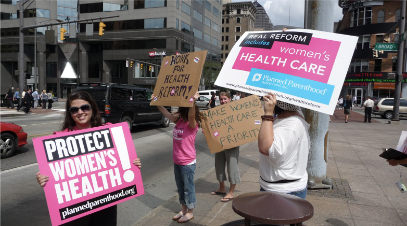 Planned Parenthood is a nonprofit organization that offers millions of women reproductive healthcare. President Trump has threatened to dismantle the organization, which will deprive women of not only their rights but many kinds of services as well.
