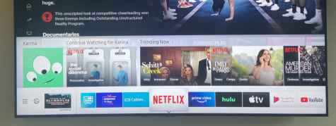 The increase in popularity of streaming platforms such as Netflix, Hulu, Apple TV and Prime Video has been a huge contributor to the decline of the movie theater industry. Their wide variety of entertainment choices and convenience to watch from home often lead people to watch films from the comfort of their home rather than going out to the movies.