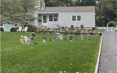 Although most Halloween traditions are strongly discouraged this year, houses around Westport use spooky decorations along with new alternatives to boost spirit and excitement.