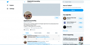 Among other adjustments being made, the guidance department is now active on Twitter, posting updates regularly on their feed to keep students informed.