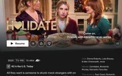 Netflix's newest release 'Holidate,' leaves it's audience with a whole new view of the holidays. John Whitesell combined two of the public's favorite things, the holidays and romantic comedies, into one spectacular feel-good movie.