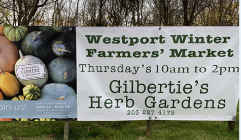The Westport Farmers' Market reopened at Gilbertie's Herbs and Garden Center for the winter season with social distancing restrictions.