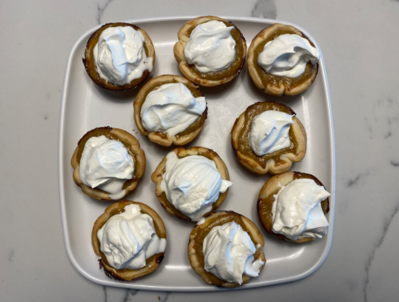 These mini pumpkin pies are a huge hit on any Thanksgiving table and are perfect for sharing while staying safe during COVID-19.