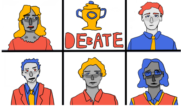 Debate+team+quarrels+to+success