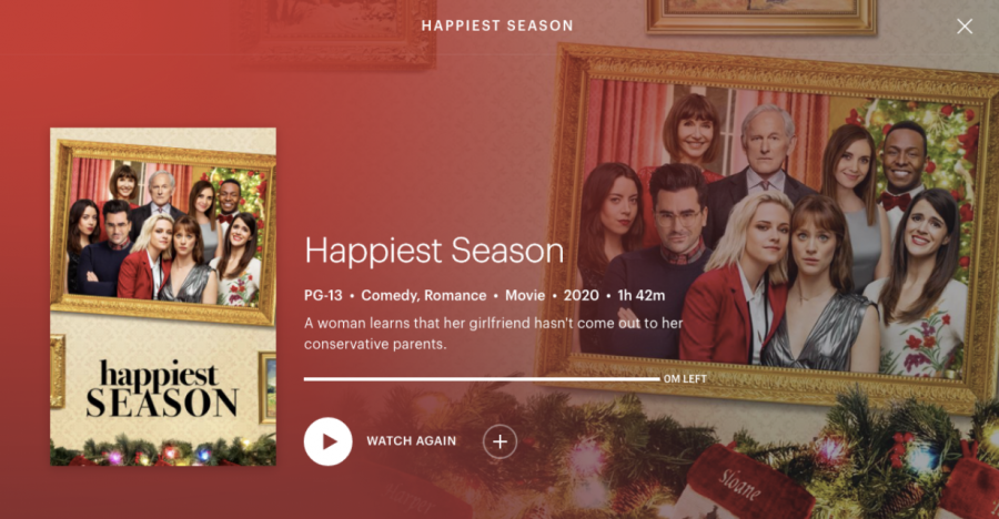 """Hulu's holiday romcom """"Happiest Season"""" is successful in instilling empathy towards it's characters and in communicating the struggle of finding acceptance in our heteronormative society."""
