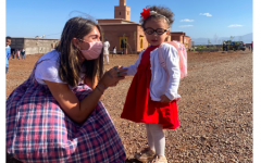 Remi Levitt '21 used Staples' period of remote learning to give back to Moroccan children in the village of Atlas Kinder.