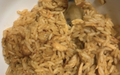 A fried rice is a perfect meal to make when in a rush or on the go.