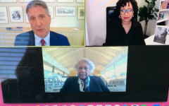 "Layla F. Saad (upper right) and Bernicestine McLeod Bailey (bottom) had a virtual conversation on Sunday, Jan. 17 about Saad's book ""Me and White Supremacy""."