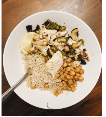 Students at Staples participate in Veganuary, a 31-day challenge to eat vegan during January, in order to make a positive impact on animals, the environment and their health.
