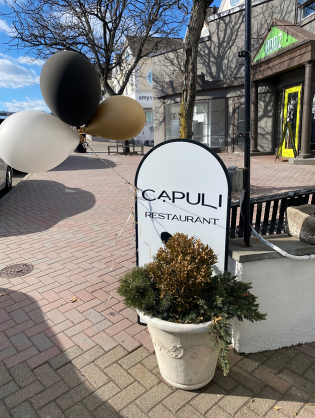 Capuli+opened+in+downtown+Westport+with+the+hopes+of+serving+West+Coast+inspired+dishes.+Andrea+and+Armando+Brito+opened+the+restaurant+after+moving+from+California+and+missing+that+style+of+cuisine.+