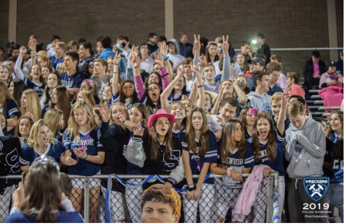 On+Oct.+25%2C+2019%2C+the+Staples+Wreckers+hosted+the+New+Canaan+Rams+for+their+Homecoming+game.+At+this+game%2C+it+is+Staples+tradition+for+the+senior+girls+to+wear+special+shirts%3B+however%2C+this+year%2C+the+tradition+did+not+occur+due+to+COVID-19.+