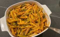 A recipe for baked tomato feta pasta has been circling through TikTok in past weeks. Other food trends such as homemade iced coffee and cream cheese-stuffed bell peppers have also become popular on TikTok.