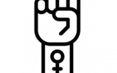 A hand showing female empowerment, which is similar to drawings that were shown in the movie.