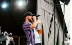 Quinn XCII performing at the 2018 Osheaga music festival in Montreal, Canada.