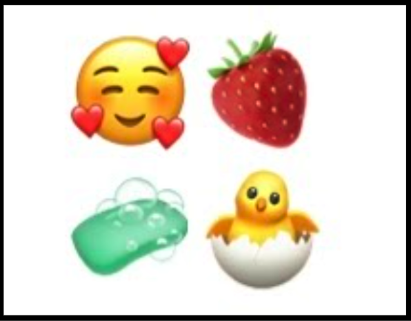 Emojis allow for unusually creative expression and communication among friends and family.