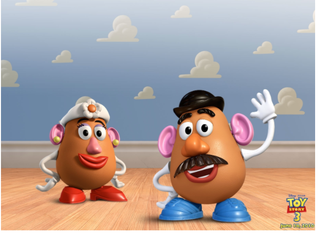 Hasbro announces new Potato Head toys that dropped the pronouns Mr. and Ms. due to recent controversy. However, the iconic Mr. and Mrs. Potato Head are still available for sale.