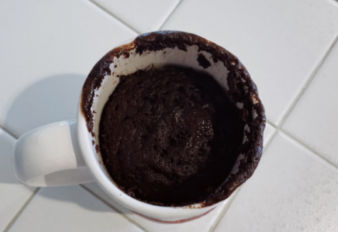 Double chocolate mug cake serves as a quick and healthy snack or dessert for cake lovers.