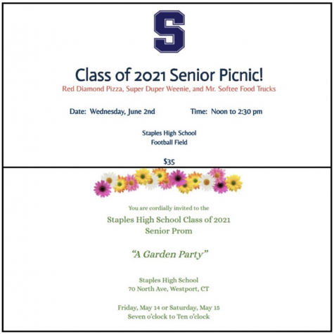 With the end of the year right around the corner, seniors are turning their attention to internships,prom,the senior picnic and graduation. The permission slip, which includes a $100 check for attendance, and invitation were sent out by the administration to seniors.