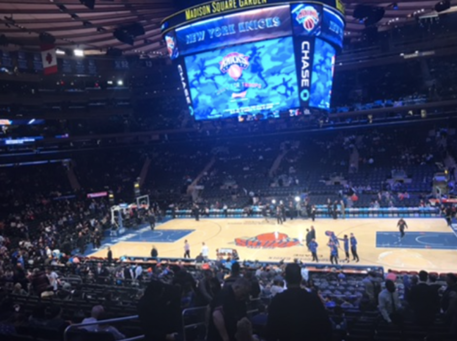 The+Knicks+are+going+to+finish+the+season+above+0.500+for+the+first+time+since+2012%2C+and+the+Staples+community+is+ecstatic+about+their+success.