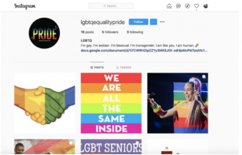 For the final project, Nell-Ayn Lynch's students made an Instagram account called lgbtqequalitypride where they posted pictures regarding the LQBTQ+ community and its significance. This final project is an easier yet more creative version of a final exam that still provides critical information for the teachers.