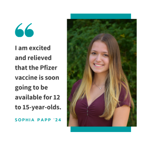 The FDA is predicted to approve the distribution of the Pfizer-BioNTech COVID-19 vaccine for adolescents ages 12 to 15 early next week. Connecticut plans to get vaccines to this age group through the use of school clinics.
