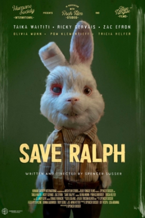 "The Humane Society's production of ""Save Ralph"" emotionally defines the detriments of animal testing through the experiences of lovable rabbit Ralph, who has suffered critical injuries and harmful abuse in his career as a tester."
