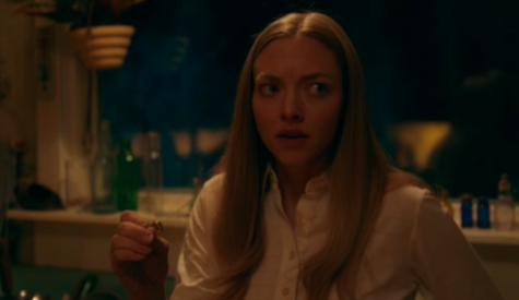 Amanda Seyfried chills viewers as Catherine Claire; her curiosity about the spirits that inhabit her house grows throughout the movie and eventually she is forced to face them.