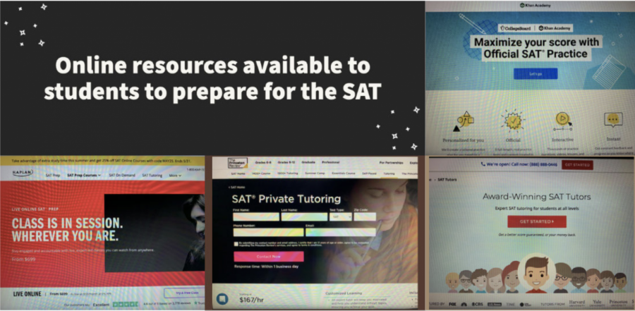 Students who have the financial ability to do so often utilize online resources that may cost upwards of hundreds of dollars for SAT tutoring with the promise of improved scores.