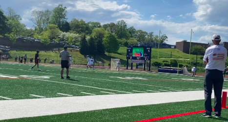 Ridgefield took back the lead for the majority of the first three quarters. Matt Burger would score the winning goal at the end of the fourth quarter.