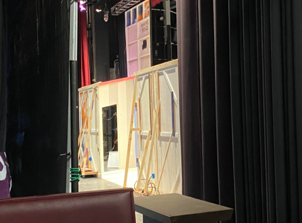 """Behind the scenes at the Staples Players new production, """"Words Words Words… And Music."""""""