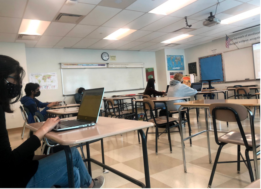 While currently masks are required in school classrooms across the state until the end of the school year, the case may be very different come August.