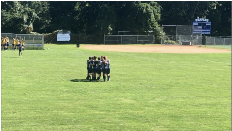 The Staples boys' varsity soccer team fought their toughest competition in their league, Greenwich, on September 18 on their home turf. The players walked away from the game unsatisfied with the tie but are looking forward to possibly facing the Cardinals again in the future for a rematch.