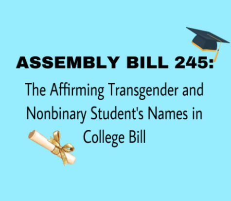 Assembly Bill 245 was passed in California on Oct. 6, 2021 by Governor Gavin Newsom to prohibit public universities from misidentifying students on their diplomas and school reports.